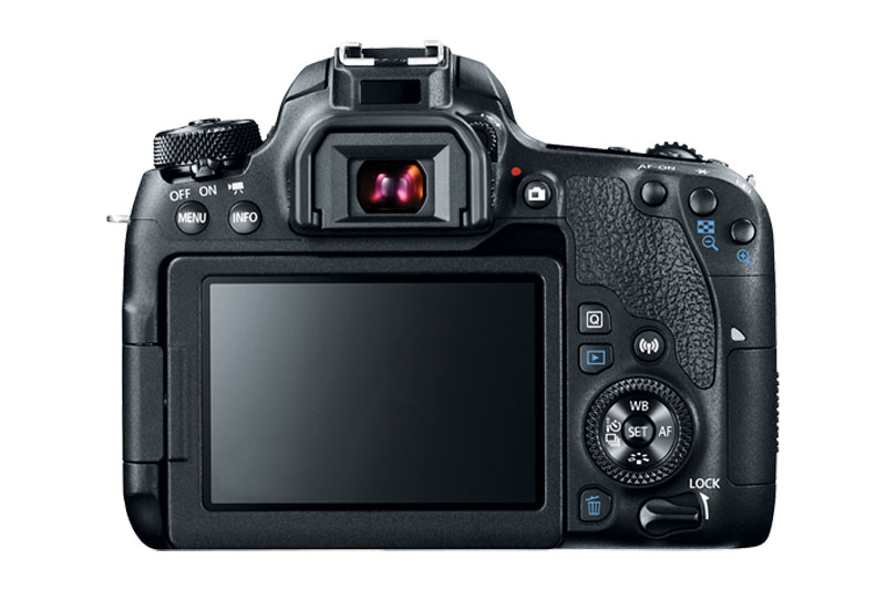 canon eos 77D DLSR back lcd