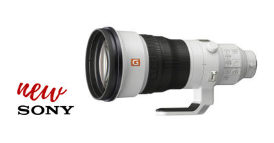 Sony EF 400mm f/2.8 GM OSS Lens
