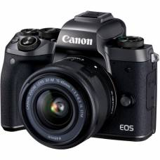 Canon EOS M5 Mirrorless Camera Kit with EF-M 15-45mm Lens